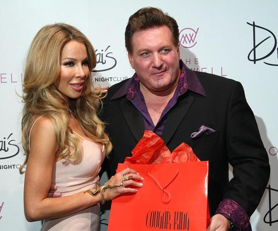 "Reality TV was in ""living color"" at Drai's at The Cromwell with ""Real Housewives of Miami"" Star Lisa Hochstein and Nightclub Singer Johnny Ray, ""The Cougar King"""