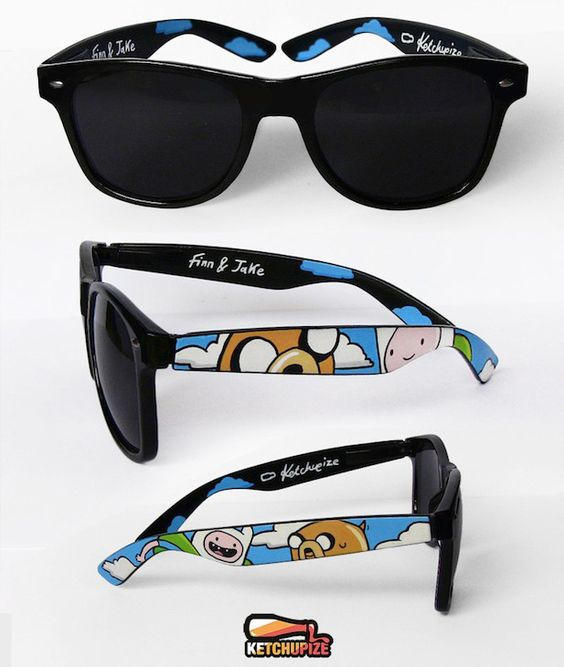 Gafas de #HoradeAventuras!! - #AdventureTime glasses!! (Discovered by julia condes)  #Regalos #Frikis #Geek #Gifts