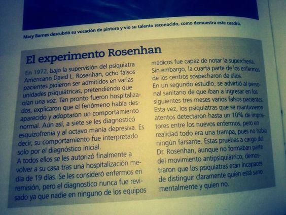 Imaginave: El experimento Rosenhan Junio 2015
