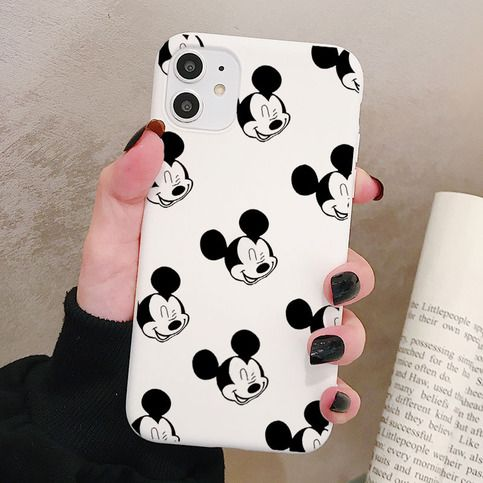 Mickey Mouse Soft Silicone Case Material: Soft Silicone Design ...