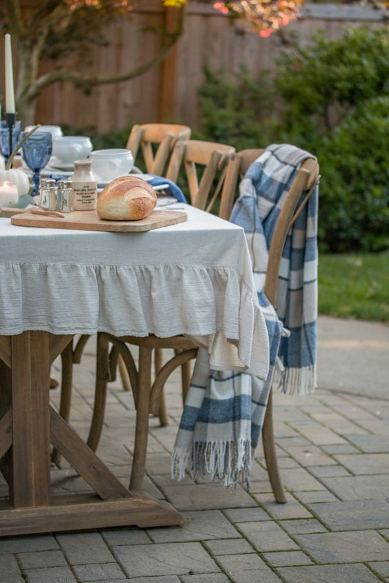 Tips for Creating an Outdoor Fall Gathering Table - Saw Nail and Paint