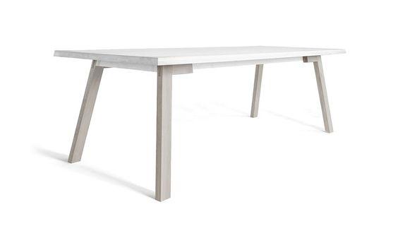 Catwalker Tisch 240 cm - Weiß von Sander van der Haar für Spell | MONOQI