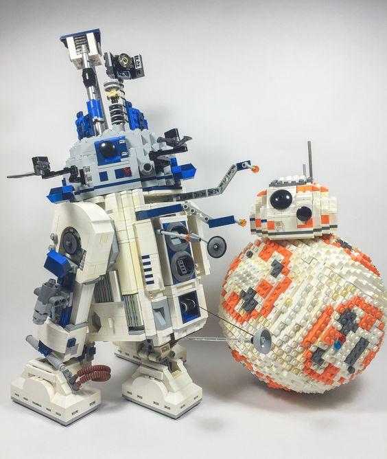 R2-D2 & BB-8 (taken by Will) by takamichi irie    Via Flickr: Models by Takamichi Irie Photo by Will Galbraith   Follow Mr.Galbraith here: Twitter @willgalb