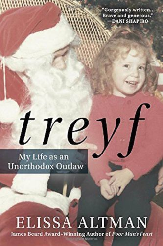 The Best Books Of 2016 So Far  #refinery29  http://www.refinery29.com/2016/02/102382/best-books-2016#slide-9  Treyf: My Life as an Unorthodox Outlaw By Elissa Altman September 20 Elissa Altman grew up with bat mitzvahs followed by shrimp-in-lobster-sauce lunches; synagogue on Saturday night followed by Chinese food on Sunday. Her adolescence was a constant contradiction between Jewish heritage and modern American girl sensibilities, and her identity always shiftin...