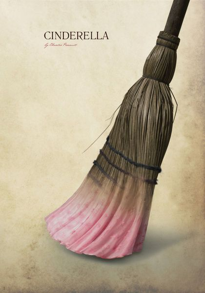 'Cinderella' by Iglika Angelova on artflakes.com as poster or art print $18.03