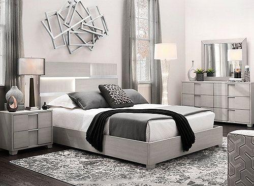 Alara 4 Pc King Bedroom Set In 2020 King Bedroom Sets Bedroom