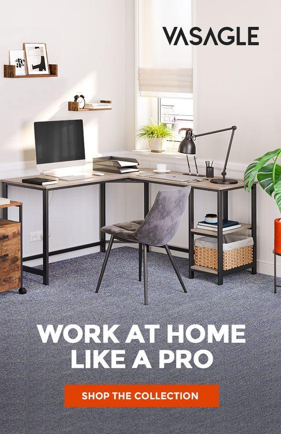 Industrial Design Computer Desk Computer Desk In 2020 Home Office Home Office Furniture Sets Desk