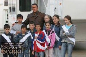 Steven with Children
