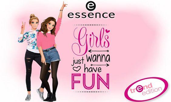 Essence Girls Just Wanna Have Fun: collezione trucco - http://www.beautydea.it/essence-girls-just-wanna-have-fun-collezione-trucco/ - Super anteprima Essence Cosmetics: vi presentiamo la nuova linea trucco Girls Just Wanna Have Fun dedicata all'amicizia tra ragazze! Girl Power!