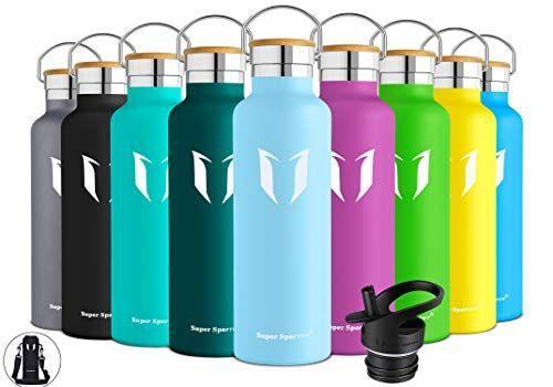 Plastic free bottle Thermal Water Bottle 500 ml BPA free Staineless steel bottle