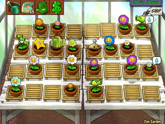 Plants vs. Zombies Game Snapshots