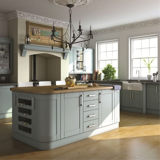 Grey Shaker Kitchen Cabinets   Google Search
