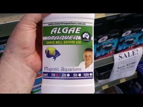 New product! Algae Starver phosphate remover by Majestic Aquariums