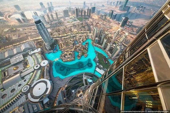 Amazing shot of Dubai