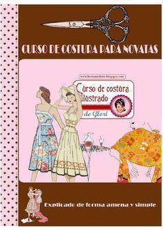 Curso de costura ilustrado de Glori                                                                                                                                                      Más