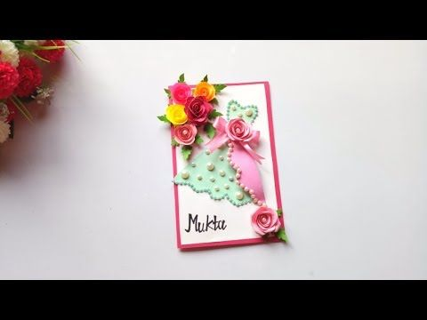 How To Make Birthday Special Card For Sister Diy Gift Idea Youtube Special Cards Handmade Birthday Cards Sisters Diy