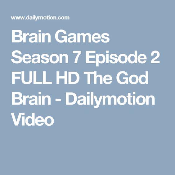 Brain Games Season 7 Episode 2 FULL HD The God Brain - Dailymotion Video