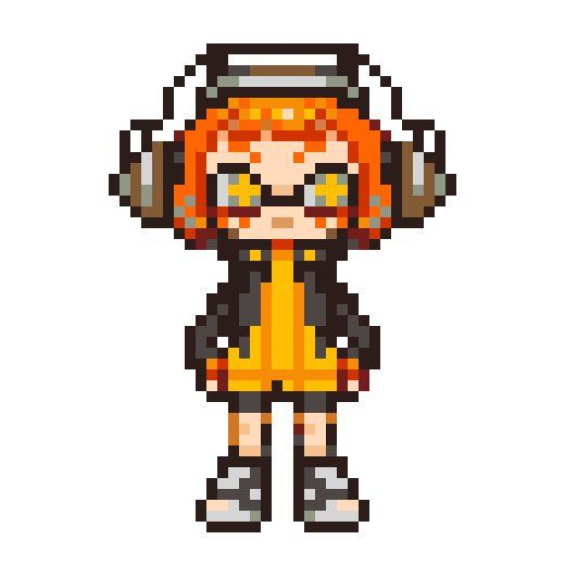 Pixel Art Splatoon 2