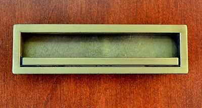MODERN-5-RECESSED-BRASS-Cabinet-Pulls-PERFECT-FOR-A-CABINET-MAKER