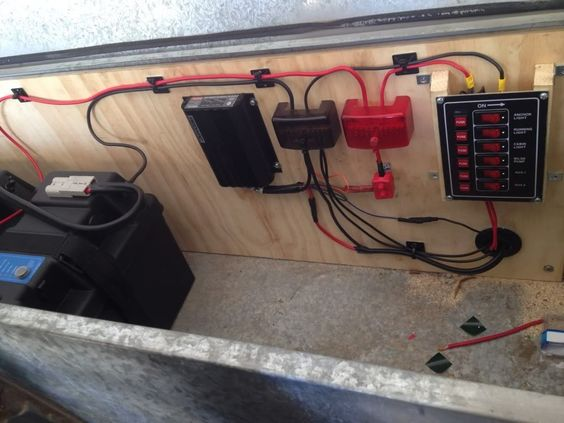 Cool Travel Trailer Battery Wiring Diagram Travel Image Trailer Battery