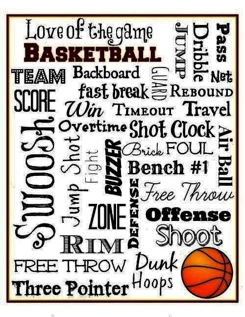 Printablebasketball Bymywordcreations Artbasketball