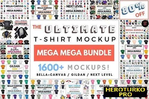 Download Ultimate T Shirt Mockup Mega Bundle 3732431 Tshirt Mockup Design Mockup Free Free Packaging Mockup