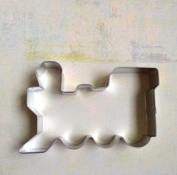 Train Cookie Cutter by SugarFoxShop on Etsy