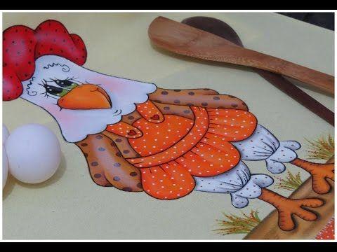 Artes Mariana Santos: Pintura em tecido - A Galinha Fifi esta pronta!!!! parte 3 final
