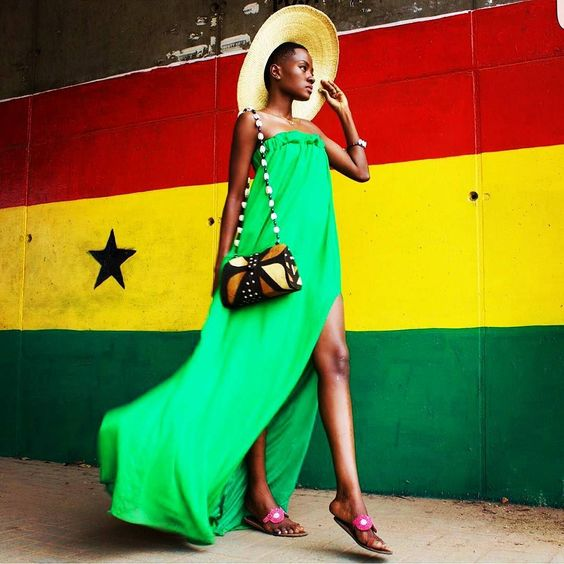 Damn #Ghana you are flawless @iamhamamat she is a model and an author! by thepanafrican