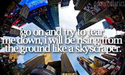 demi lovato lyrics skyscraper - photo #30
