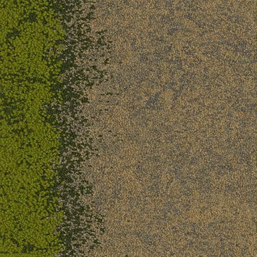 Interface flor carpet tile flax grass from the urban for Grass carpet tiles