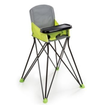 summer infant pop u0027n sit portable high chair green products high chairs and infants - Ciao Portable High Chair