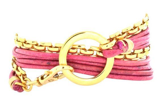 Cadence Bracelet, Raspberry
