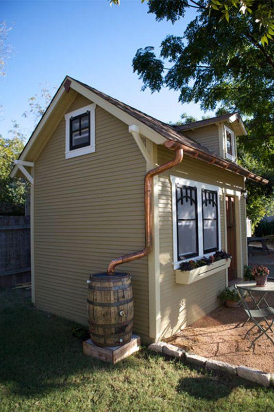 Copper Craftsman And Rain Barrels On Pinterest