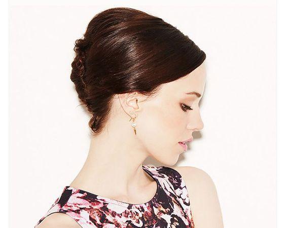 penteado para cabelo curto e médio