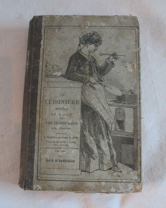 Livre de cuisine ancien la cuisini re mod le par e h for Anciens livres de cuisine