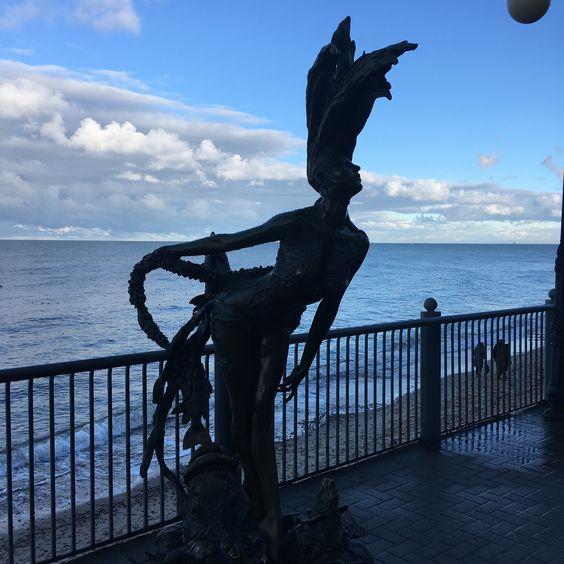 Скульптура Ундина на променаде в Светлогорске. Фото: Vladimir Shveda
