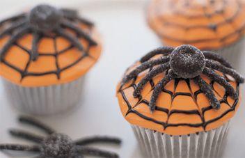 Receta Cupcake Telaraña | Cupcakes Halloween