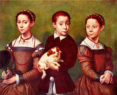The above picture is a portrait of Shakespeare's kids. Shakespeare had two girls Susanna, Judith and one boy Judith's twin Hamnet. The most interesting part about Shakespeare's kids was they failed to continue the Shakespeare line, so there are no decedents of Shakespeare today. By: Kevin Niehoff From: http://littrip.wikispaces.com