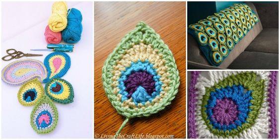 Voici des beaux modèles crochet de paon! Ils sont des idées de crochet parfaites pour le début du printemps. . Vous pouvez faire dans une écharpe, couverture de paon ou couvre-lit. Assurez-vous que vous...