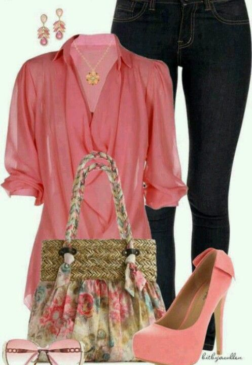 Amazing outfit! But I would were a nice dark brown leather bag