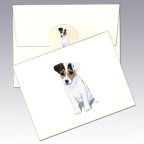 Jack Russell Terrier notecards 10 notecards