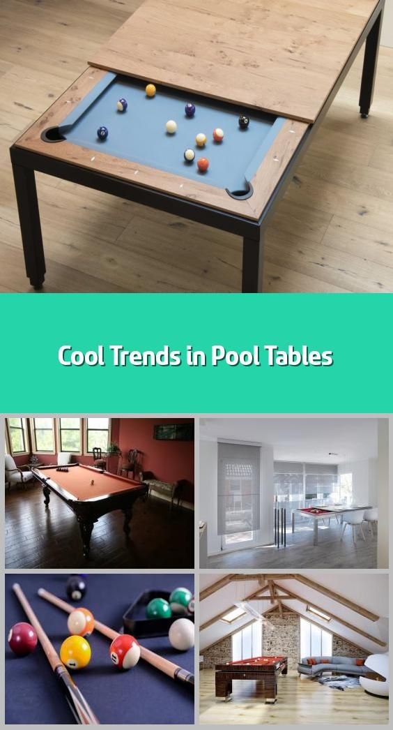 Cool Trends In Pool Tables In 2020 Pool Table Modern Pool Table Custom Pool Tables