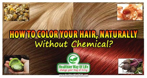 natural hair colour without chemicals