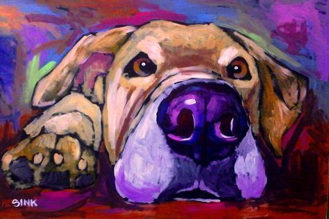 Brian Sink Dog Art Dog Art Art Dog Paintings