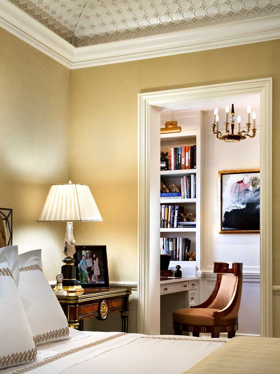 Master Bedroom Study Alcove John B Murray Architect A Beautiful Home Pinterest Nooks
