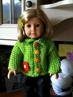 Jacket for AG Doll