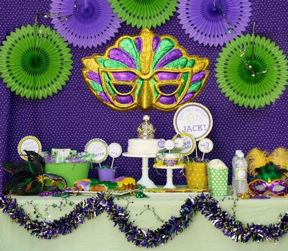 Hostess with the Mostess® - Mardi Gras Bash