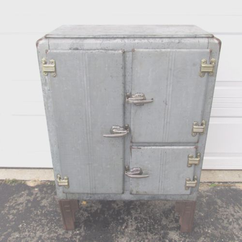 antique ice boxes | eBay