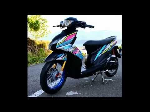 Modifikasi Mio J Hitam Motor Yamaha Hd Wallpaper